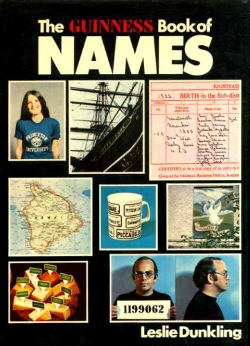 The Guiness Book of Names