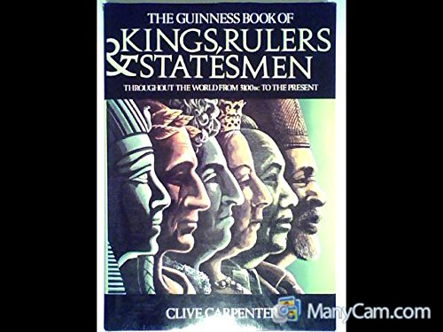 The Guinness Book of Kings, Rulers and: Carpenter, Clive.