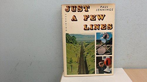 9780900424502: Just a Few Lines