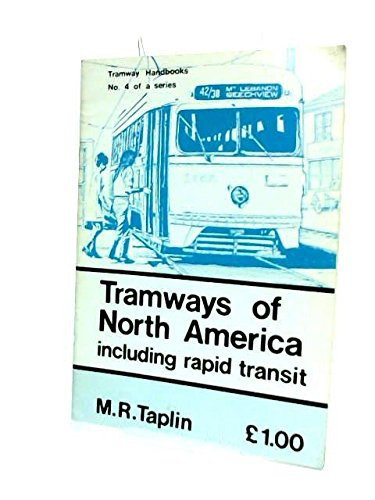 9780900433696: Tramways of North America (Tramway handbooks ; no. 4)