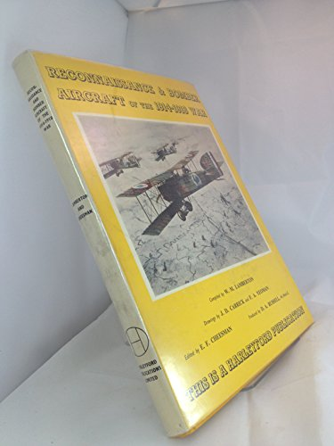 9780900435027: Reconnaissance and Bomber Aircraft of the 1914-18 War