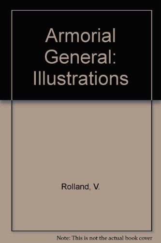 9780900455209: Illustrations to the Armorial General by J.-B. Rietstap