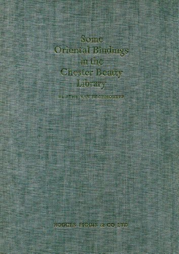 9780900466311: Some Oriental Bindings in Chester Beatty Library