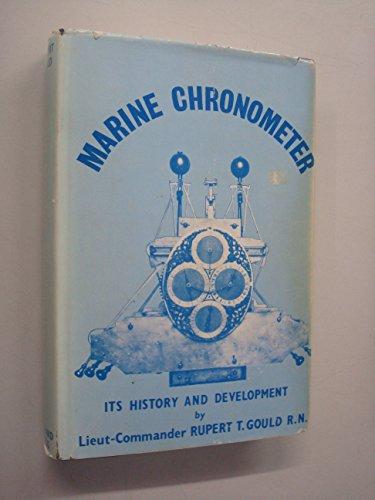 9780900470172: Marine Chronometer