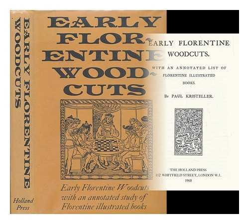 9780900470240: Early Florentine Woodcuts
