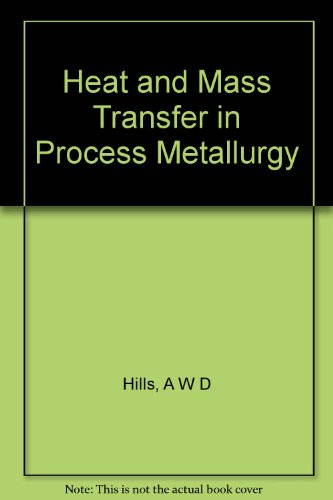 9780900488306: Heat and Mass Transfer in Process Metallurgy