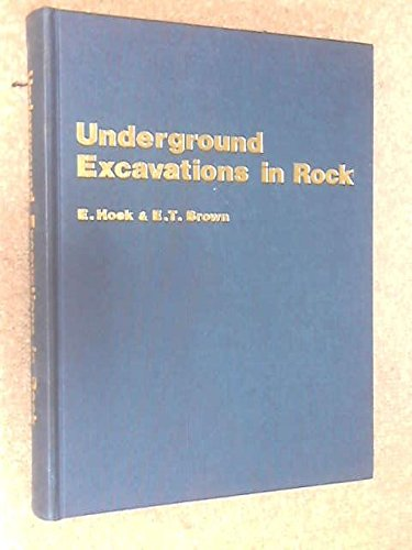 9780900488542: Underground Excavations in Rock