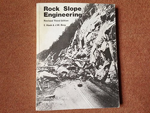 9780900488573: ROCK SLOPE ENGINEERING 3E CL