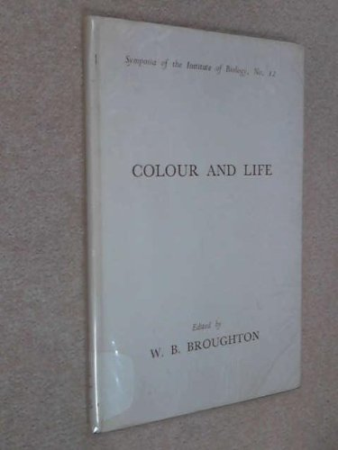 9780900490071: Colour And Life