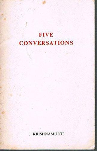 9780900506048: Five Conversations