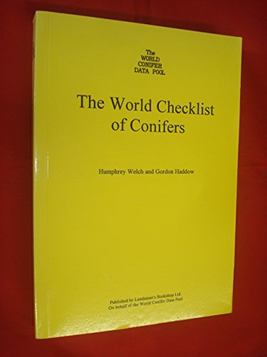 9780900513091: The World Checklist of Conifers