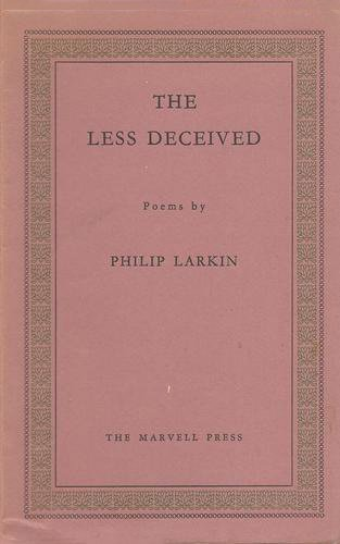 Philip Paperback Book The Fast Free Shipping The Less Deceived by Larkin