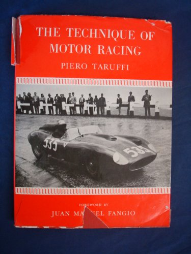 9780900549014: Technique of Motor Racing