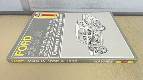 9780900550010: Ford Anglia Owners Workshop Manual 1959 Thru 1968 (Classic Reprint Series: Owner's Workshop Manual)