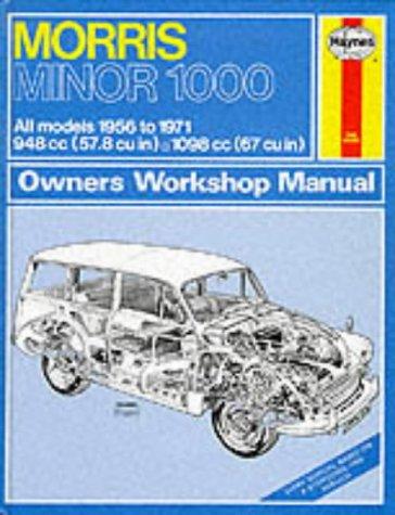 9780900550249: Morris Minor 1000 Owners Workshop Manual 1956 Through 1971 (Haynes Owners Workshop Manual No. 024)