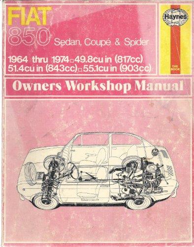 9780900550386: Fiat 850 Owner's Workshop Manual