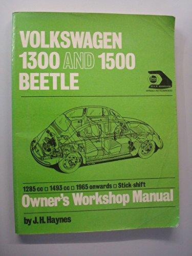 workshop manual volkswagen beetle abebooks rh abebooks com Volkswagen Golf Volkswagen Golf