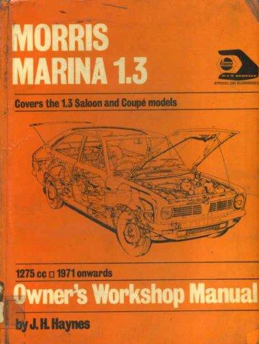 9780900550737: Morris Marina 1.3 Owner's Workshop Manual