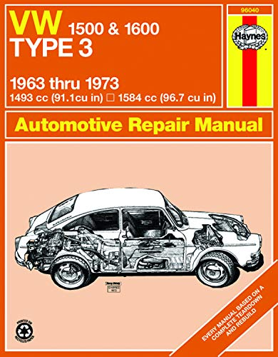 9780900550843: Vw Type 3, 1500 and 1600, 1963-1973