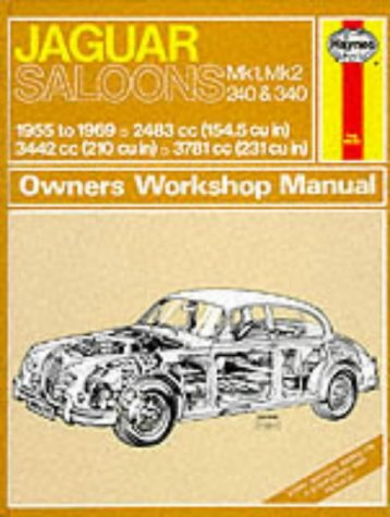 Jaguar Mk 1 and 2 240 and 340 Owners Workshop Manual