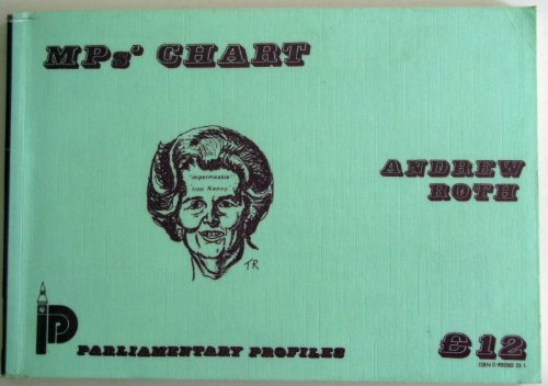 9780900582257: Members of Parliament Chart 1987-88