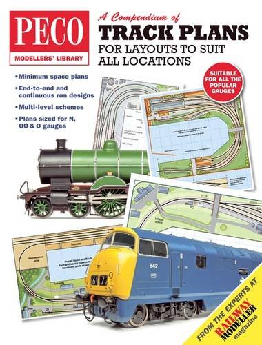 9780900586026: A Compendium of Track Plans: For Layouts to Suit All Locations (PECO Modellers Library)