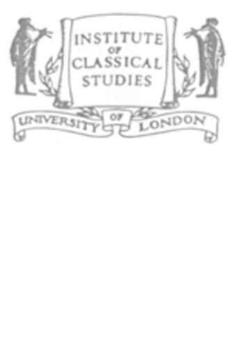9780900587658: Dancing Maenad Reliefs: Continuity and Change in Roman Copies (Bulletin Supplement)