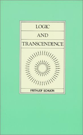 9780900588266: Logic & Transcendence