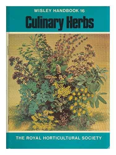 9780900629631: Culinary Herbs (Wisley S.)