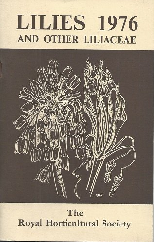 Lilies And Other Liliaceae 1976: Elspeth Napier