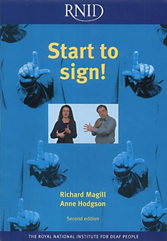 Start to Sign! Magill, Richard A. and