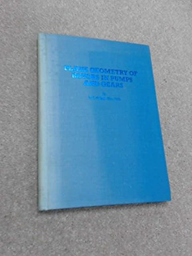 9780900647024: Plane geometry of rotors in pumps and gears