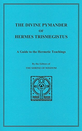 9780900664045: The Divine Pymander of Hermes Trismegistus