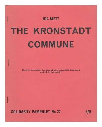 9780900688126: Kronstadt Commune