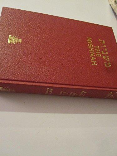 Mishnah: Berakoth, Peah, Demai: Herzog, Y. D.; Herzog, Y.D. Dr., Trans.
