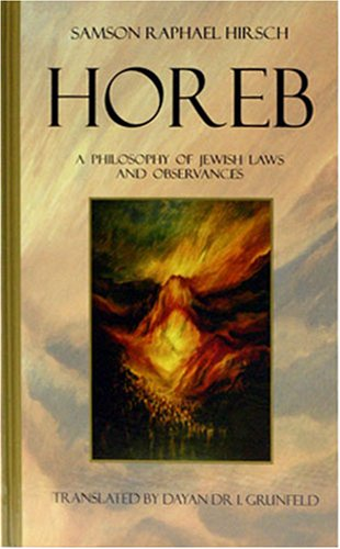 9780900689406: Horeb: A Philosophy of Jewish Laws and Observances