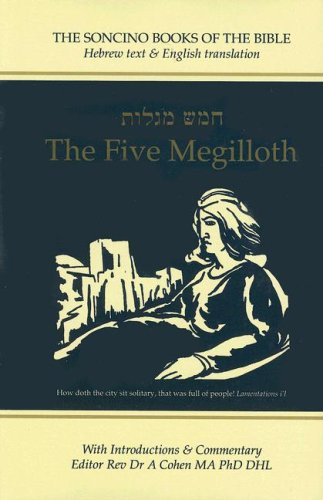9780900689857: The Five Megilloth (Soncino Books of the Bible)