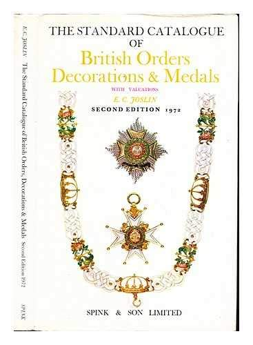 Standard Catalogue of British Orders, Decorations and Medals