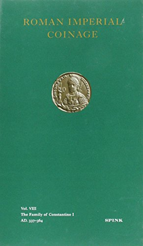 9780900696855: The Roman Imperial Coinage Vol. VIII: The Family of Constantine I (v. 8)