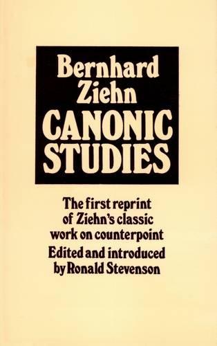 9780900707384: Canonic Studies