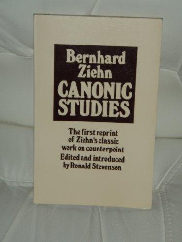 9780900707704: Canonic Studies