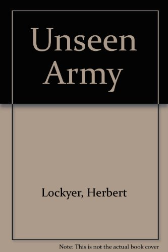 9780900725029: Unseen Army
