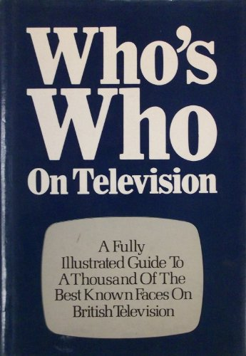 9780900727719: Who's Who on Television 1980-81