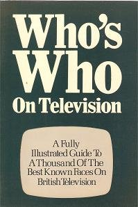 9780900727726: Who's Who on Television 1980-81