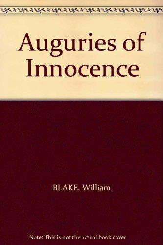 9780900731112: Auguries of Innocence