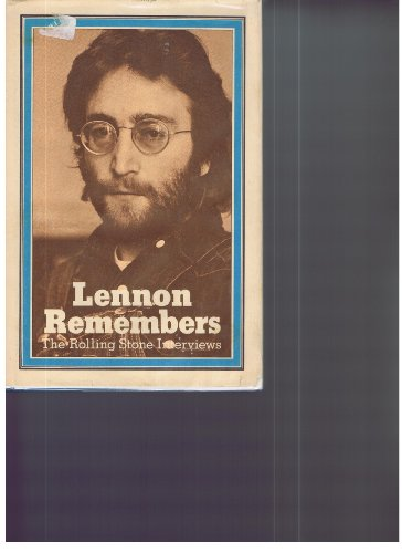 9780900735103: Lennon Remembers: The