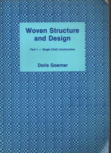 9780900820175: Woven Structure & Design - Part 1 - Single Cloth Construction