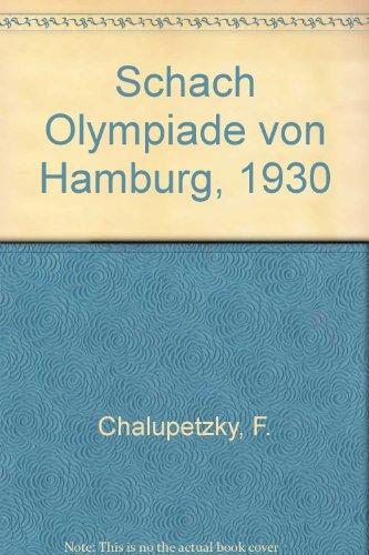 9780900846120: Schach Olympiade von Hamburg, 1930