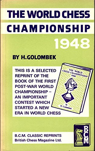 9780900846359: World Chess Championship 1948