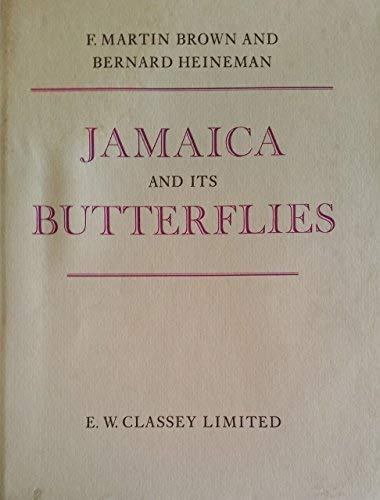 9780900848445: Jamaica and its Butterflies